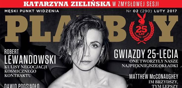 Kasia Zielińska pozowała dla Playboya