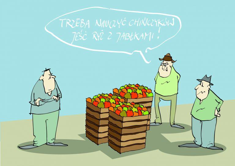 Ryż z jabłkami…