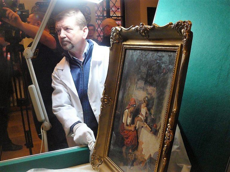 """Zrabowany i odzyskany obraz ma """"bliźniaka""""!"""