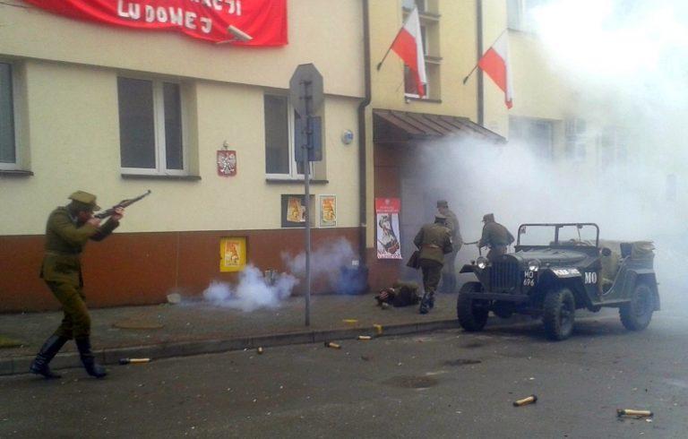Nowy Sącz: partyzanci zaatakowali ubecką katownię