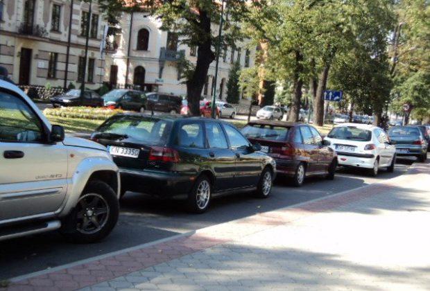 Nowy Sącz: radny Fecko przekonuje do parkingu na ul. Berka Joselewicza