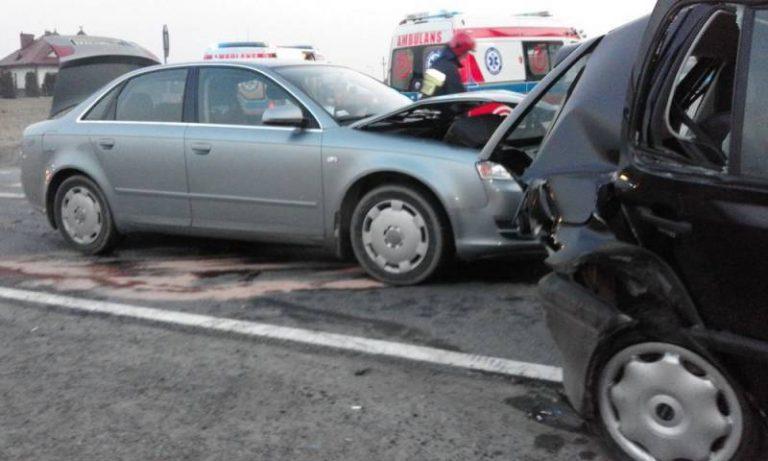 Trzetrzewina: wypadek. Cztery osoby w szpitalu