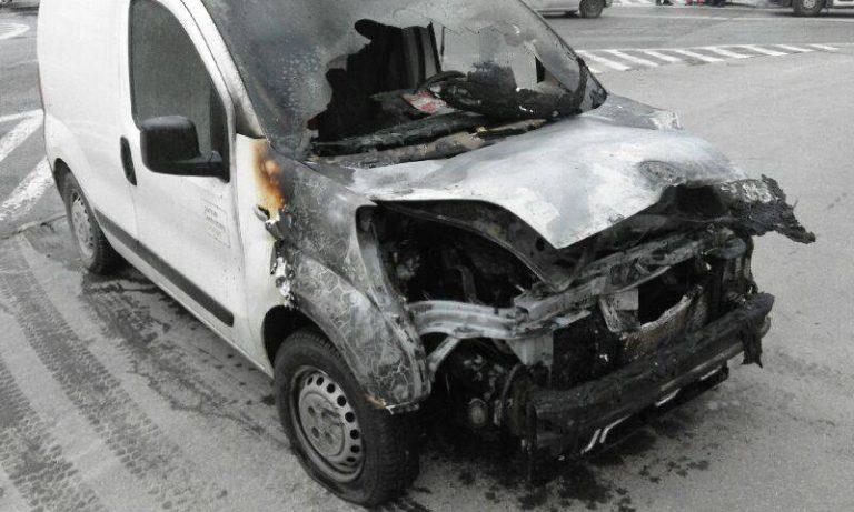 Nowy Sącz: Fiorino stanął w płomieniach