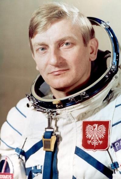 Mirosław Hermaszewski odwiedzi Korzenną