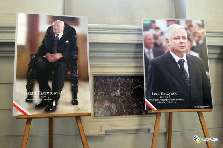 Sądeczanie pamiętają o katastrofie smoleńskiej
