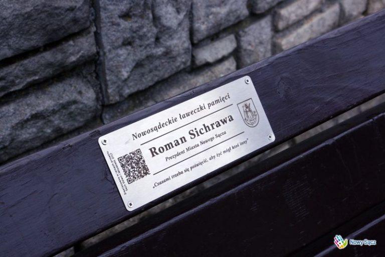 """Nowy Sącz: Gabrysia i Kuba zrealizowali projekt: """"Ławeczki Pamięci"""""""