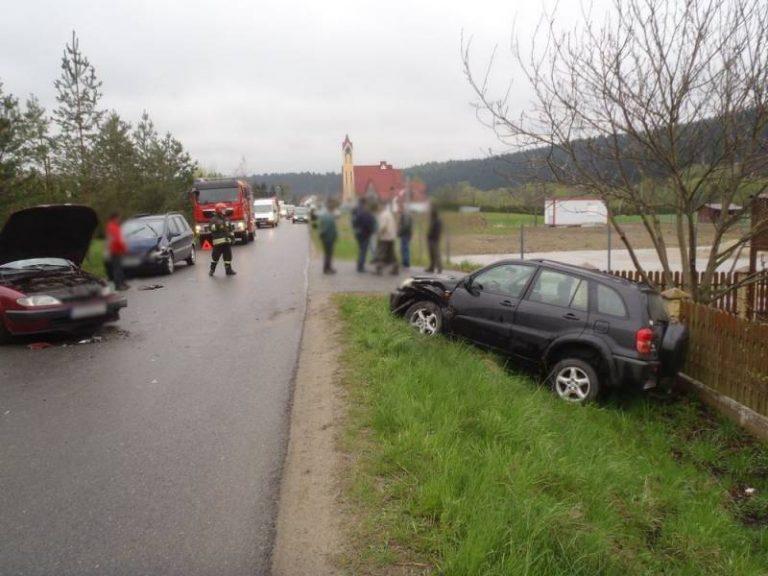 Naszacowice: kierowca Opla popełnił błąd. Kobieta ma uszkodzony kręgosłup