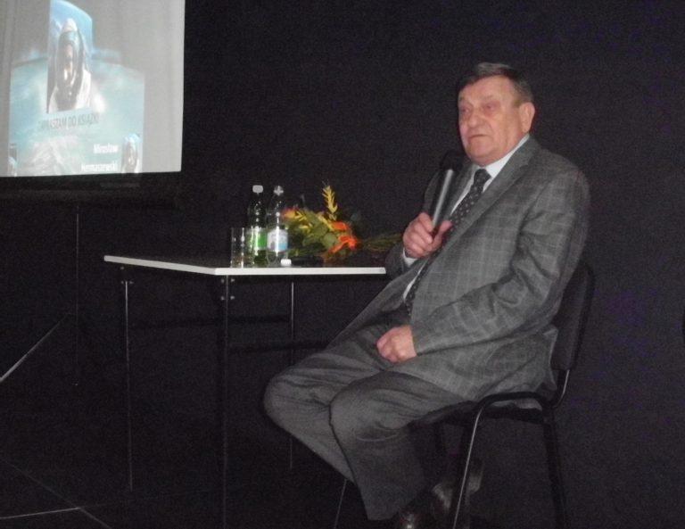 Kosmonauta Mirosław Hermaszewski odwiedził Sądecczyznę