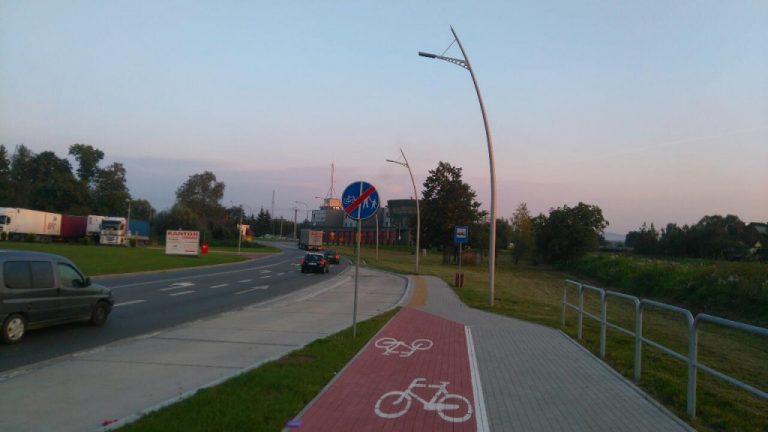 Nowy Sącz: ulica Witosa wzbogaci się o ścieżkę pieszo – rowerową