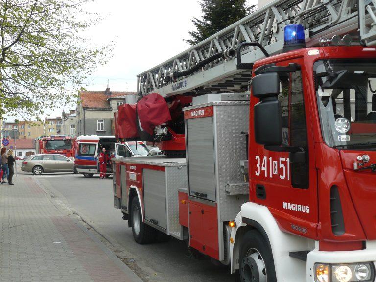 Nowy Sącz: pożar kuchenki w bloku na Żywieckiej. Małżeństwo dziękuje służbom