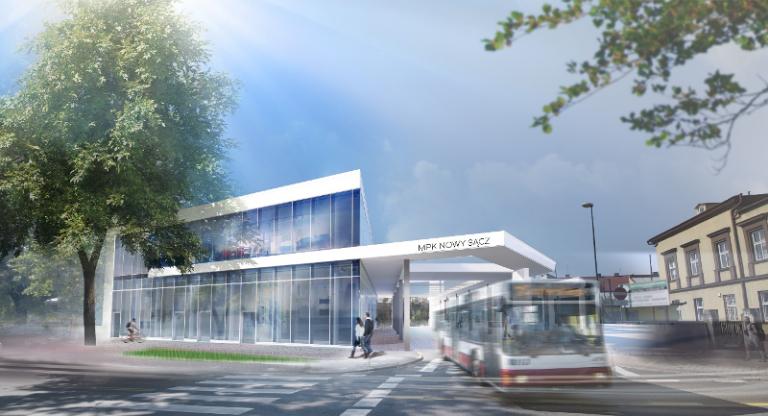 Nowy Sącz: za dwa lata będzie nowy dworzec i nowe autobusy