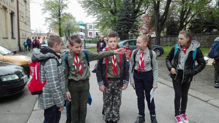 Nowy Sącz: 250 harcerzy na Wiosennej Imprezie na Orientację