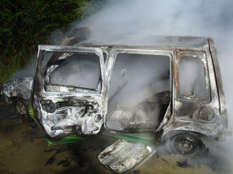 Brzezna: kto i dlaczego podpalił Daewoo Tico?