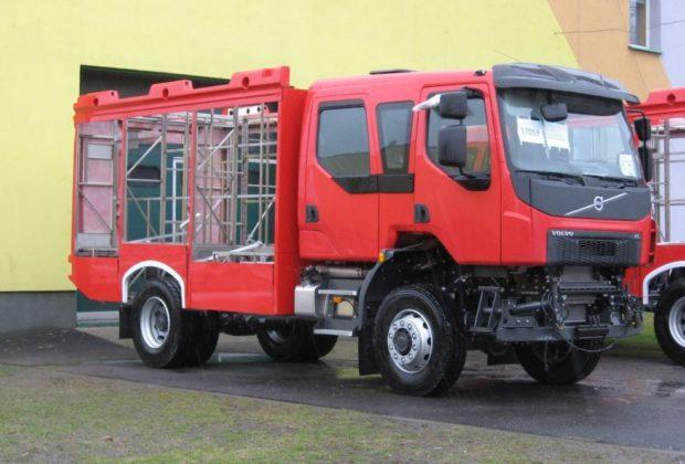 Volvo dla strażaków ochotników ze Starego Sącza