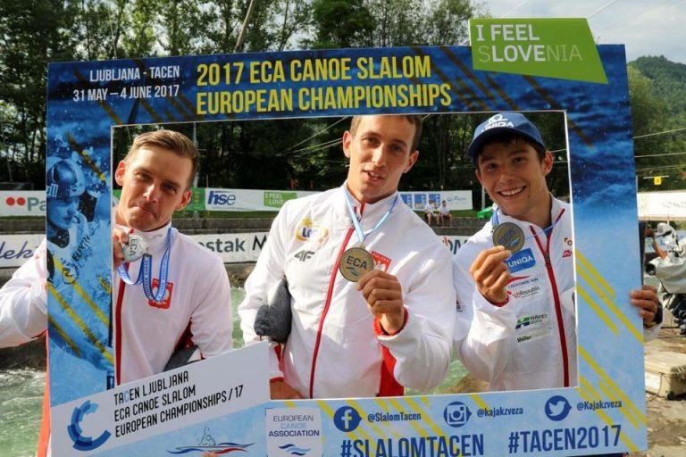 Nasi kajakarze przywieźli ze Słowenii dwa medale!