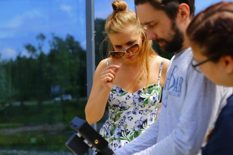 Nowy Sącz: Agnieszka Kaczorowska w MMC Brainville