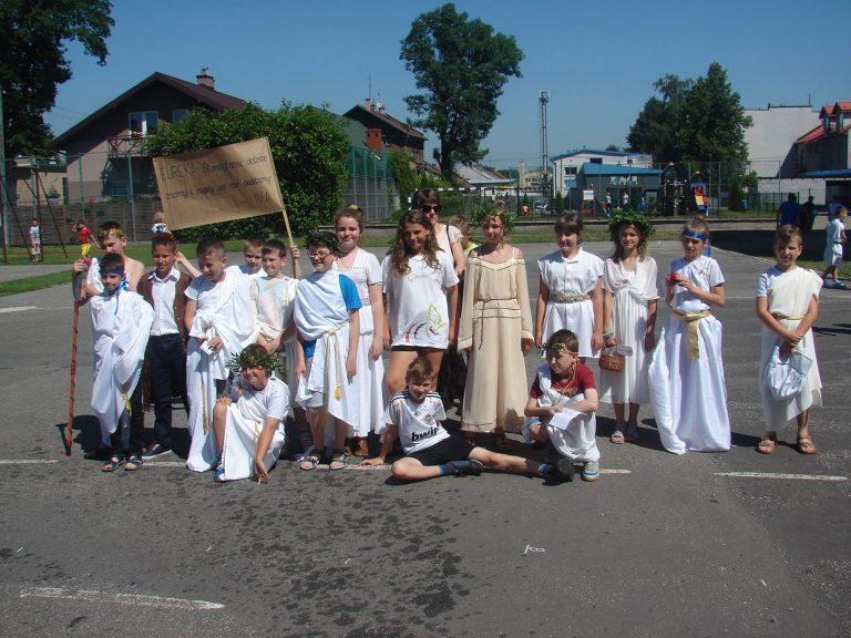 Nowy Sącz: Dzień Grecki w Szkole Podstawowej nr 8