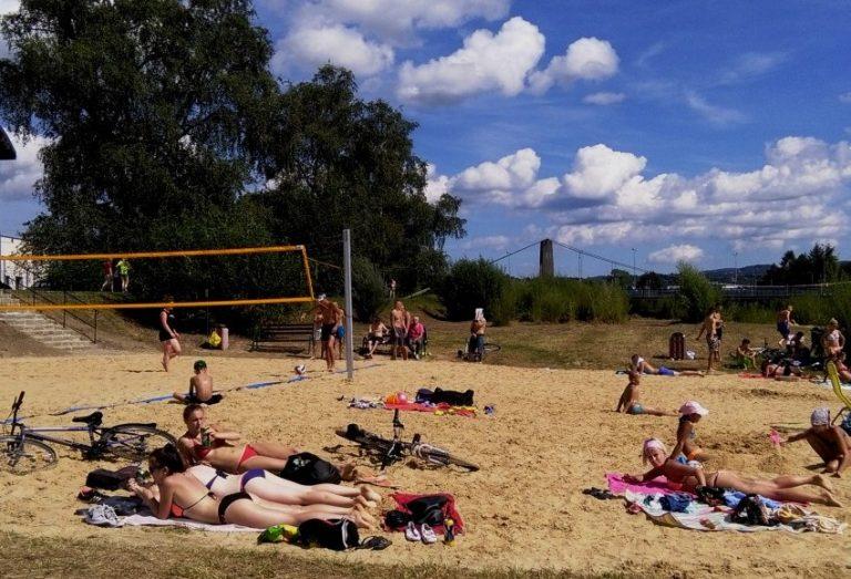 Nowy Sącz: plaża nad Kamienicą już dostępna. Od 1 lipca patrole WOPR