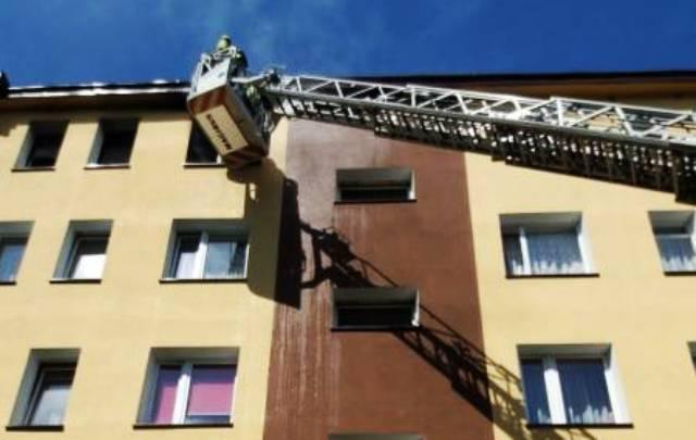 Nowy Sącz: Pożar na ul. Broniewskiego