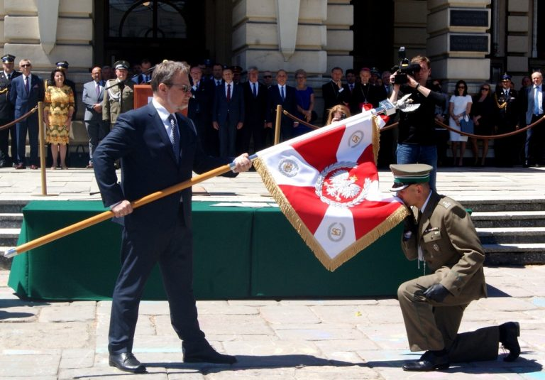 Nowy Sącz: sztandar i … imię dla Karpackiego Oddziału Straży Granicznej