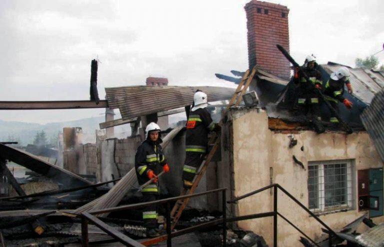 Łącko: aby ugasić ten pożar potrzeba było 44 strażaków