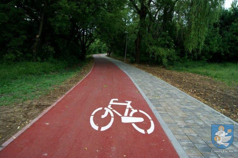 Łącko, Zagorzyn: będą ścieżki rowerowe i siłownie pod chmurką