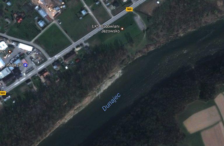 Jazowsko: z Dunajca wydobyto ciało 42-letniego mężczyzny