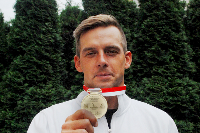 Złoty medal dla kajakarza Dariusza Popieli!