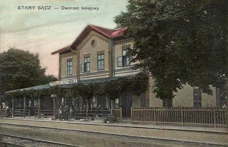 Pomysł na starosądecki dworzec PKP: miejsce integracji i mały hotelik