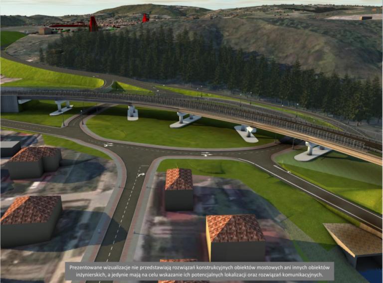 Przyspieszona droga z Nowego Sącza do autostrady A4 prawdopodobnie będzie… różowa