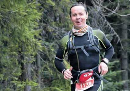 Sądecki filozof biega po górach