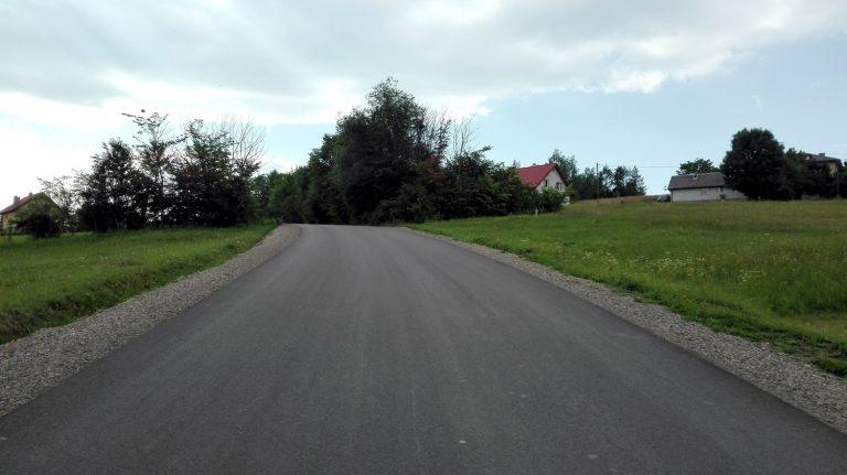 Droga w Siołkowej jak nowa