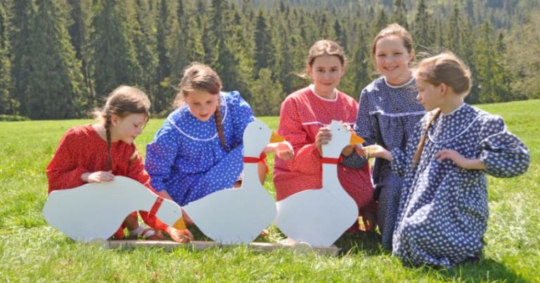 Święto Dzieci Gór: Mali Wiyrchowanie na polanie