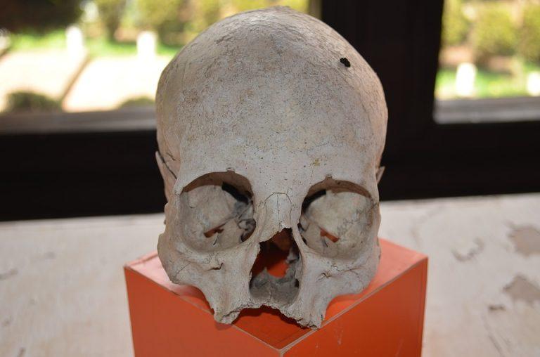 BIECZ: podczas prac drogowych odnaleziono ludzki szkielet