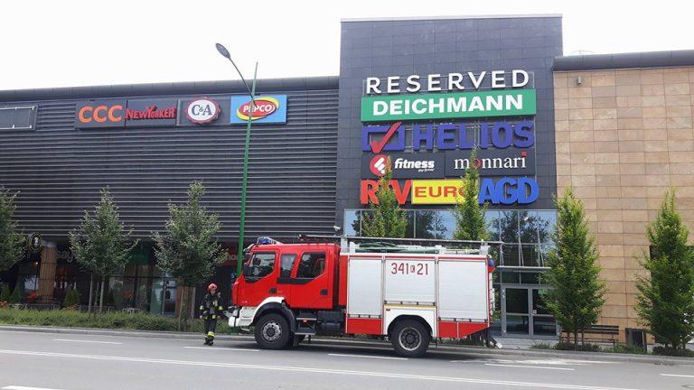 Nowy Sącz: alarm pożarowy w galerii Trzy Korony