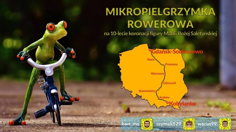 Jadą rowerami z Kobylanki do Gdańska. 777 kilometrów w siedem dni