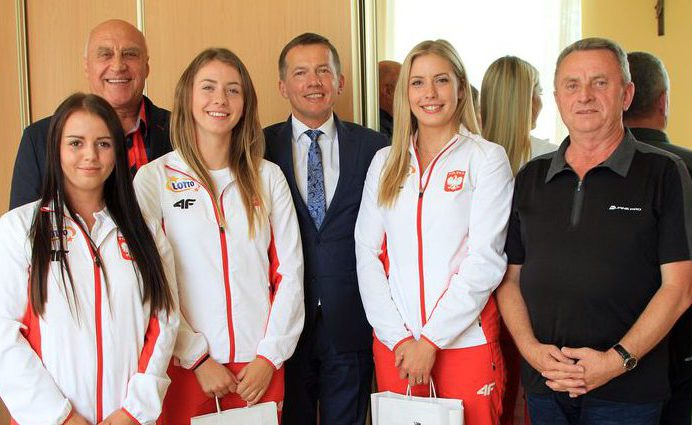 Sądeckie kajakarki wróciły z Mistrzostw Europy z brązowym medalem
