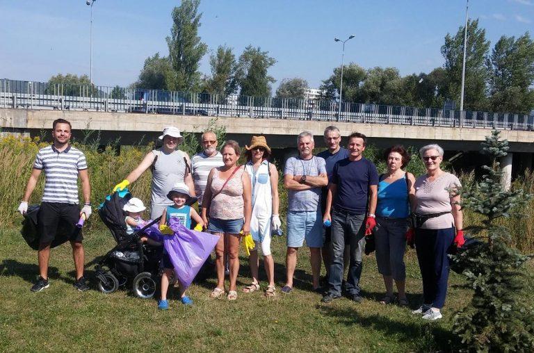 Nowy Sącz: pół tony śmieci zniknęło znad Kamienicy