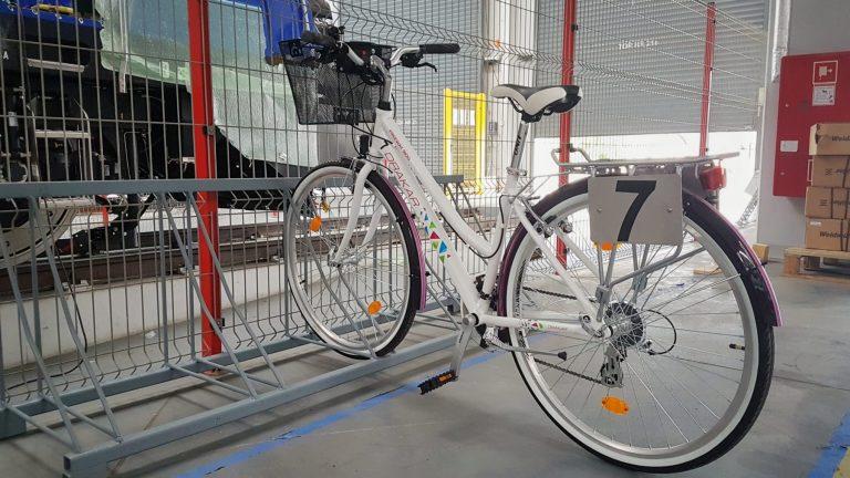 Załoga sądeckiego Newagu będzie jeździć po fabryce na rowerach