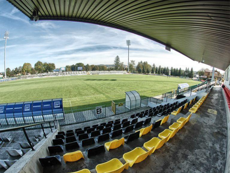 Wójt Chełmca chce oddać ziemię na budowę nowego stadionu dla Sandecji