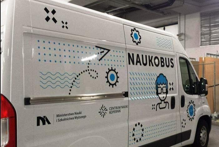 Nowy Sącz: naukobus czyli Centrum Nauki Kopernik w pigułce będzie u nas przez dwa dni!