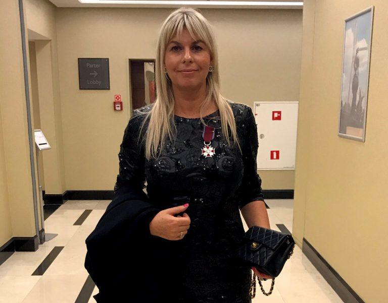 Srebrny Krzyż Zasługi dla sądeczanki Barbary Edelmuller – Generaux