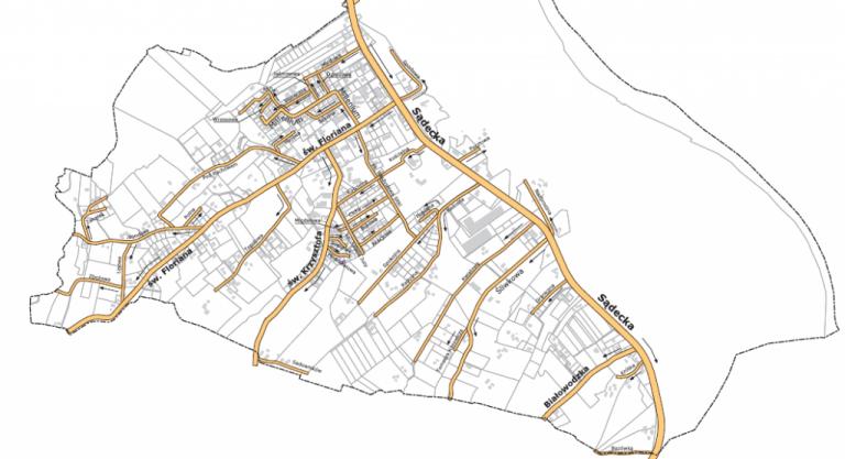 Tęgoborze: mieszkańcy wymyślili nazwy dla ulic. Będą ulice świętych, śliwkowa i sądecka