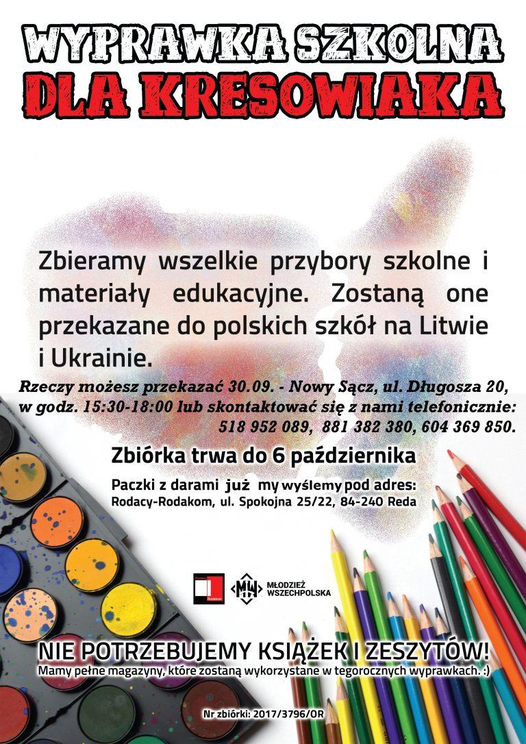 Pomóż wyprawić dzieci rodaków z Kresów Wschodnich do szkoły