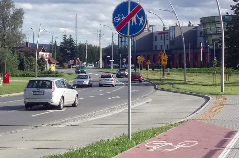 Nowy Sącz, ulica Witosa: będzie ścieżka rowerowa. Potrzebna nadzieja na jej dalszy ciąg