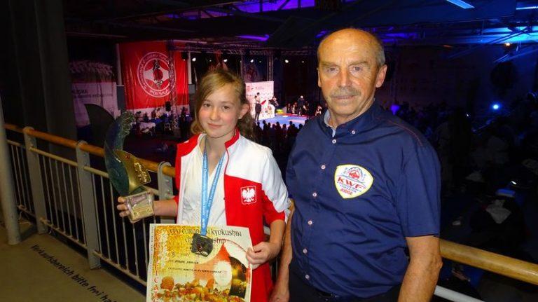 Sądeczanka Kamila Nowak została wicemistrzynią Europy Kyokushin Karate