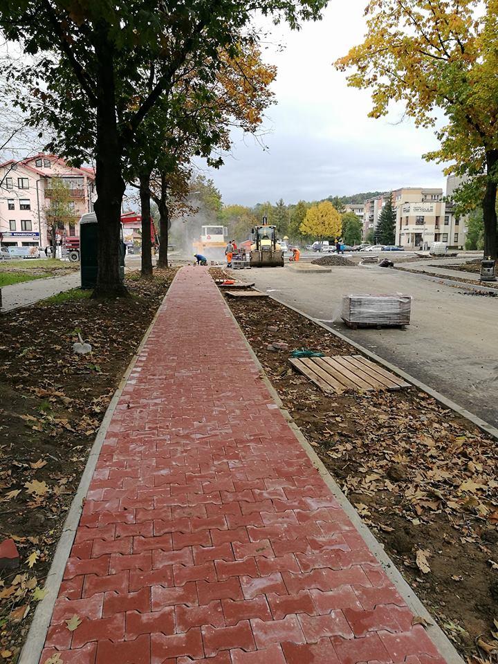 Nowy Sącz: Powstaje ścieżka rowerowa przy ulicy Witosa
