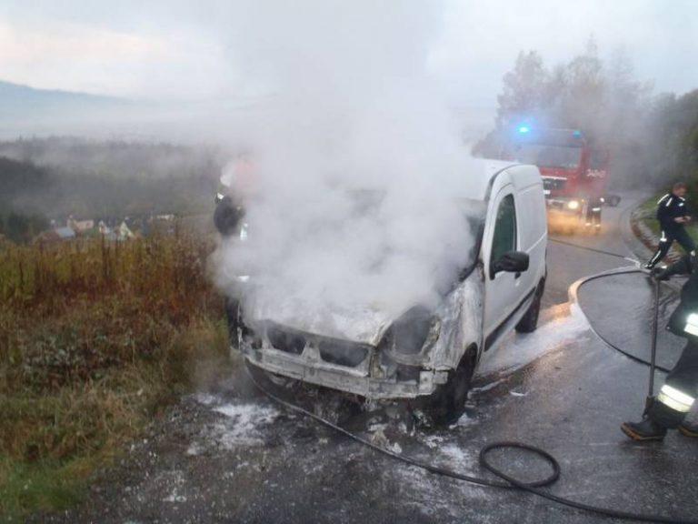 Nowy Sącz, Biała Niżna: dziś rano spłonęły dwa samochody