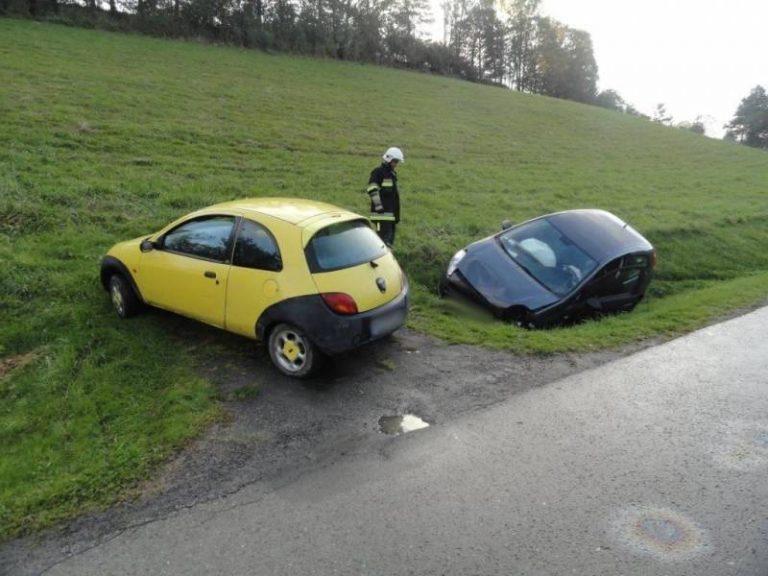Berest: kolizja dwóch samochodów osobowych