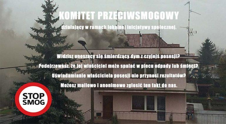 UWAGA! Nowy Sącz, Limanowa, Jamnica: ekstremalnie wysoki poziom zanieczyszczeń powietrza